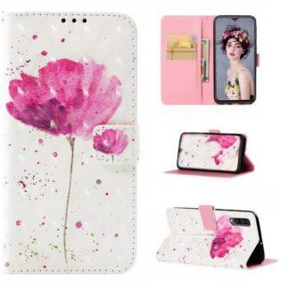Plånboksfodral Samsung Galaxy A50 – Rosa Blomma