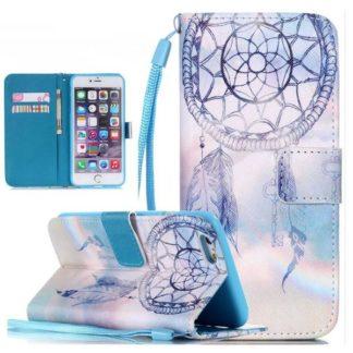Plånboksfodral iPhone 6 / 6s - Drömfångare Himmel