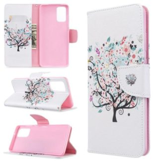 Plånboksfodral Samsung Galaxy S20 Plus – Färgglatt Träd