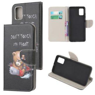 Plånboksfodral Samsung Galaxy A71 - Don't Touch My Phone