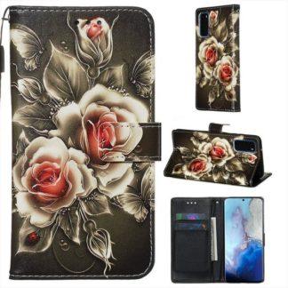 Plånboksfodral Samsung Galaxy S20 – Rosor