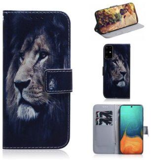 Plånboksfodral Samsung Galaxy S20 Plus - Lejon