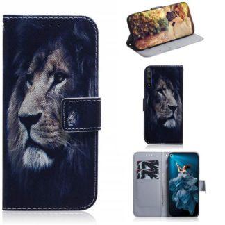 Plånboksfodral Huawei Nova 5T - Lejon