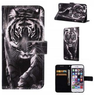 Plånboksfodral Apple iPhone 8 Plus – Tiger