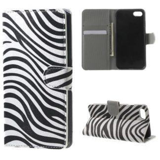 Plånboksfodral iPhone SE (2020) - Zebra