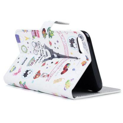 Plånboksfodral iPhone SE (2020) - Paris