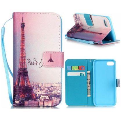 Plånboksfodral iPhone SE (2020) - Paris Je T'aime