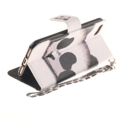 Plånboksfodral iPhone SE (2020) - Panda