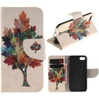 Plånboksfodral iPhone SE (2020) - Träd