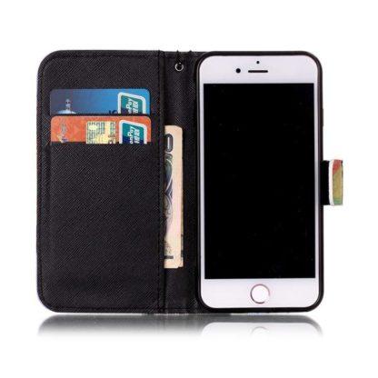 Plånboksfodral iPhone SE (2020) - Psykedeliskt