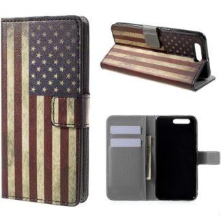 Plånboksfodral Huawei Honor 9 - Flagga USA