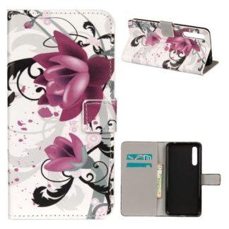 Plånboksfodral Huawei P20 – Lotus