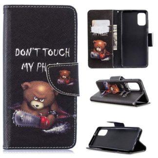 Plånboksfodral Samsung Galaxy A41 - Don't Touch My Phone