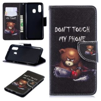 Plånboksfodral Samsung Galaxy A40 - Don't Touch My Phone