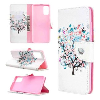 Plånboksfodral Samsung Galaxy A41 – Färgglatt Träd