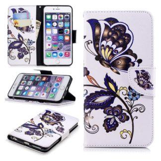 Plånboksfodral Apple iPhone 7 – Elegant Fjäril