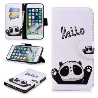 Plånboksfodral Apple iPhone 8 Plus – Hello Panda