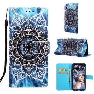 Plånboksfodral Samsung Galaxy A10 – Blå Mandala