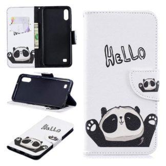 Plånboksfodral Samsung Galaxy A10 – Hello Panda