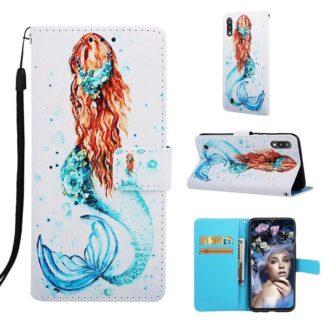 Plånboksfodral Samsung Galaxy A10 – Sjöjungfru
