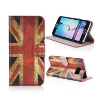 Plånboksfodral Samsung Galaxy S6 - Flagga UK