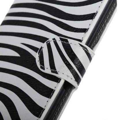 Plånboksfodral Samsung Galaxy S6 - Zebra