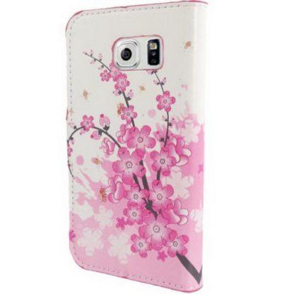 Plånboksfodral Samsung Galaxy S6 - Körsbärsblommor