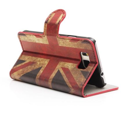Plånboksfodral Samsung Galaxy S6 Edge - Flagga UK