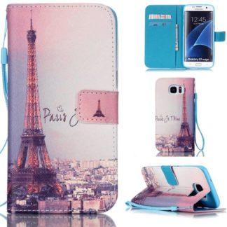 Plånboksfodral Samsung Galaxy S7 Edge – Paris Je T'aime