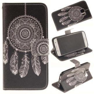 Plånboksfodral Samsung Galaxy S7 – Drömfångare / Dreamcatcher