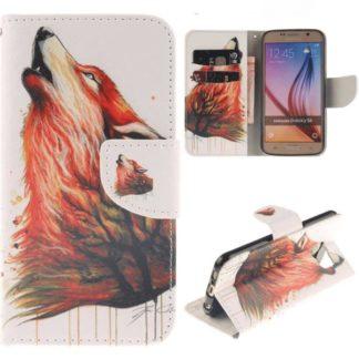 Plånboksfodral Samsung Galaxy S6 - Varg