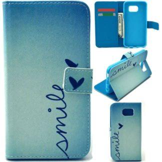 Plånboksfodral Samsung Galaxy S6 - Smile