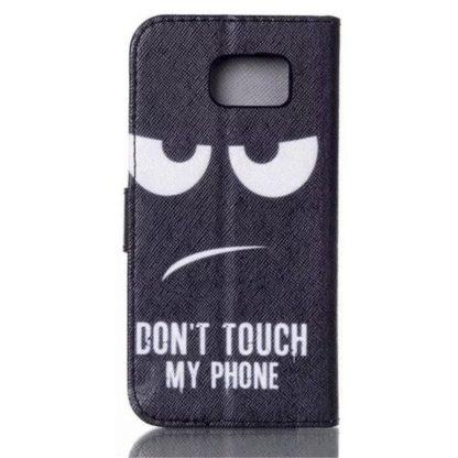 Plånboksfodral Samsung Galaxy S6 – Don't Touch My Phone