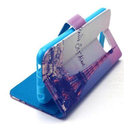 Plånboksfodral Samsung Galaxy S6 – Paris Je T'aime
