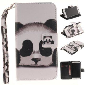 Plånboksfodral Samsung Galaxy S7 – Panda