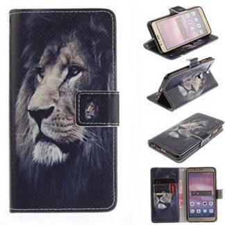Plånboksfodral Huawei Honor 8 – Lejon