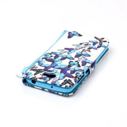Plånboksfodral Huawei Y6 II Compact - Fjärilar