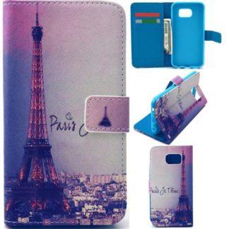Plånboksfodral Samsung Galaxy S6 Edge – Paris Je T'aime