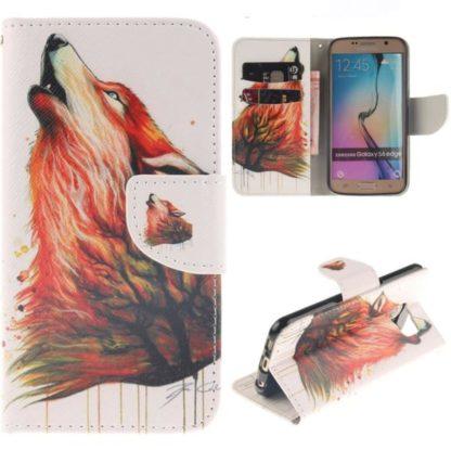 Plånboksfodral Samsung Galaxy S6 Edge - Varg