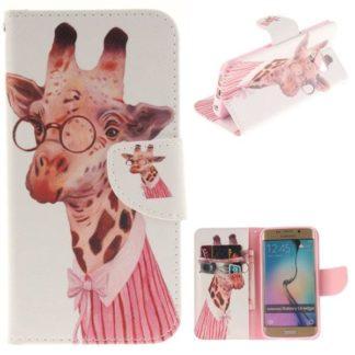 Plånboksfodral Samsung Galaxy S6 Edge – Giraff