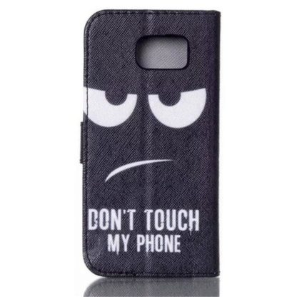 Plånboksfodral Samsung Galaxy S6 Edge – Don't Touch My Phone