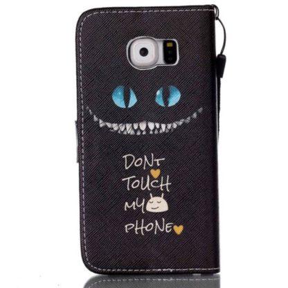 Plånboksfodral Samsung Galaxy S6 Edge - Don't Touch My Phone