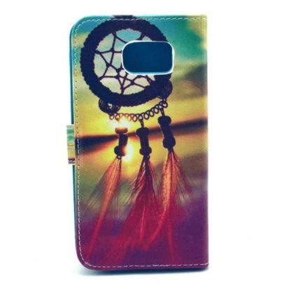 Plånboksfodral Samsung Galaxy S6 Edge – Drömfångare Solnedgång