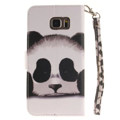 Plånboksfodral Samsung Galaxy S6 Edge – Panda
