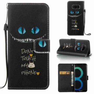 Plånboksfodral Samsung Galaxy S8 - Don't Touch My Phone