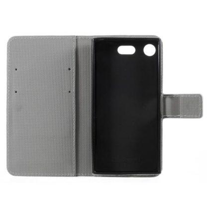 Plånboksfodral Sony Xperia XZ1 Compact – Prickigt med Uggla