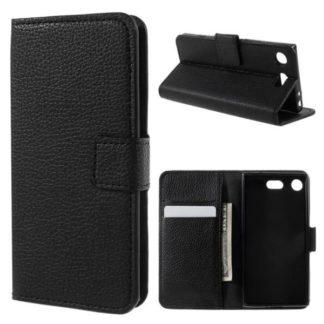 Plånboksfodral Sony Xperia XZ1 Compact - Svart