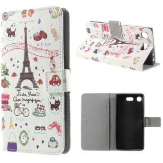 Plånboksfodral Sony Xperia XZ1 Compact - Paris