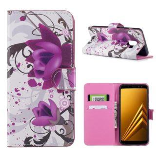 Plånboksfodral Samsung Galaxy A8 (2018) – Lotus