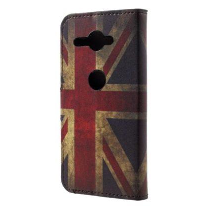 Plånboksfodral Sony Xperia XZ2 Compact - Flagga UK